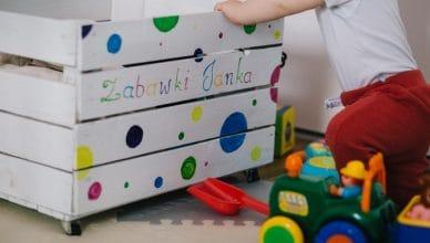 Skrzynia z zabawkami