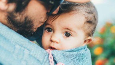 tata i dziecko
