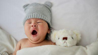 niemowlę sen