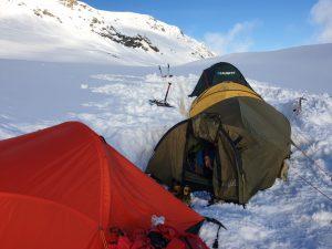obóz a Elbrusie