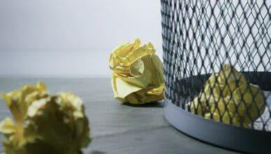 produkowanie mniej śmieci w domu