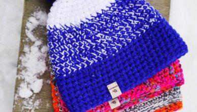 czapki handmade zimowe
